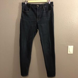 AEO HI RISE JEGGING 12R SUPER SUPER STRETCH